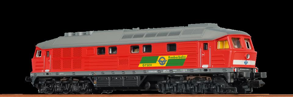 BRAWA 41442 Ludmilla dízelmozdony GySEV BR 651 004-9 (BR 232) DC (1:87)