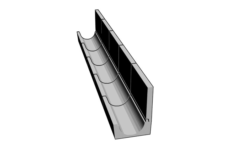 Mikromodell betoncsatorna 2 (1:87)