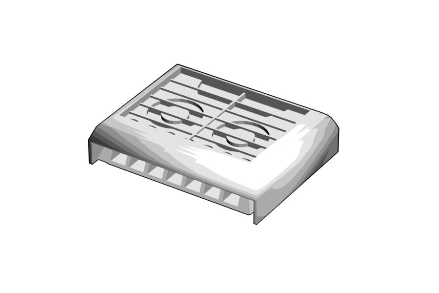 Mikromodell MÁV V63 Gigant légkondicionáló, klíma készlet (1:160)