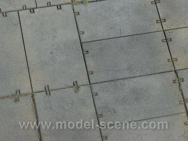 Model Scene MS48702 beton útelemek C (1:87)