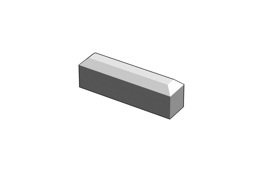 Mikromodell MÁV biztonsági határjelző (1:87)