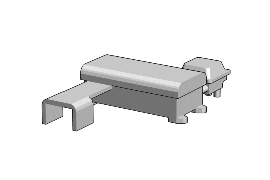 Mikromodell elektromos váltóállítómű (1:87)