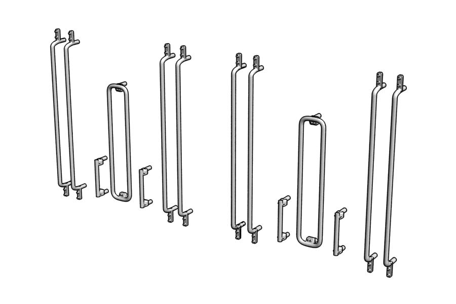 Mikromodell MÁV Bhv kapaszkodó készlet Fuggerth kocsikhoz (1:87)