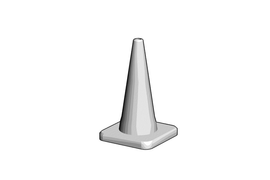 Mikromodell közúti bója (1:87)
