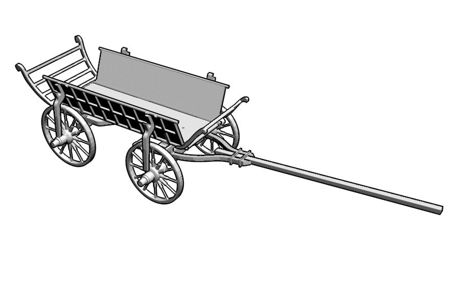 Mikromodell Szekér (1:87)