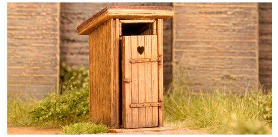 Model Scene 98501 kerti WC budi KIT (1:87)