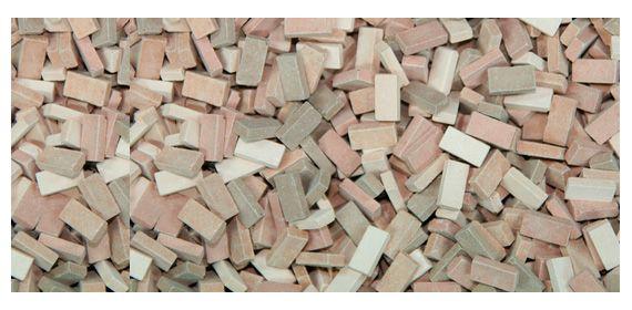 Juweela 28071 Terrakotta tégla mix rakomány 3000db (1:87)
