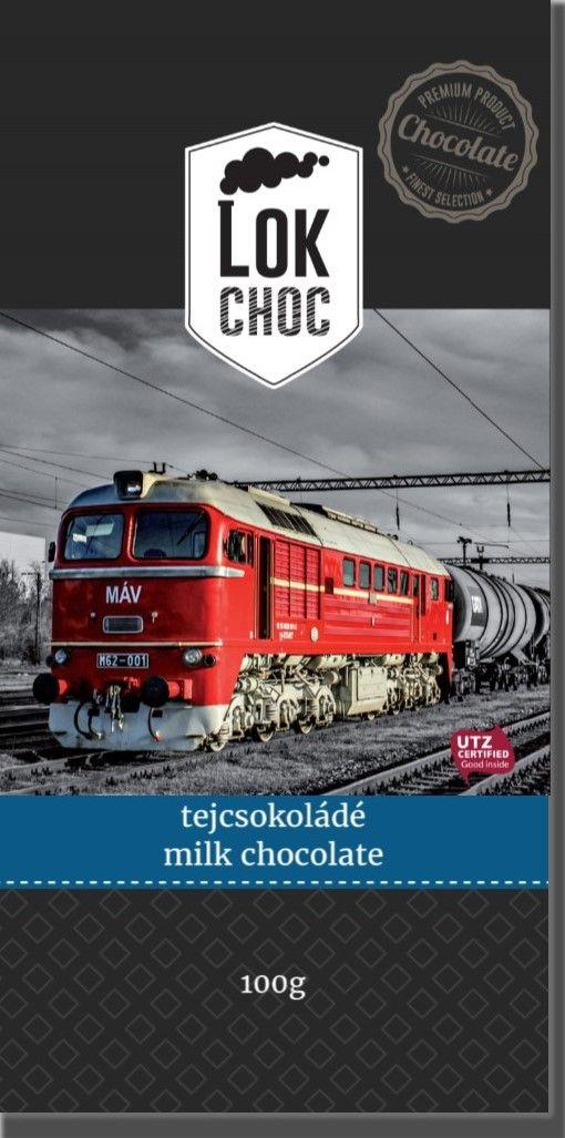 LokChoc Szergej M62 tejcsokoládé 100g
