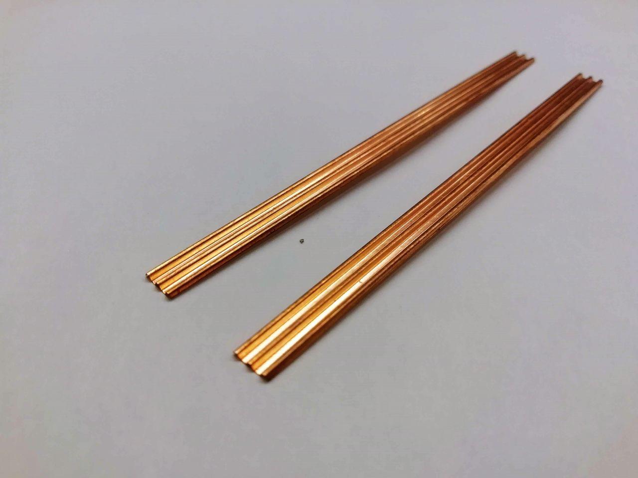 NSj Modell SZK01B szalagkorlát, 3 sávos, 2db (1:87)