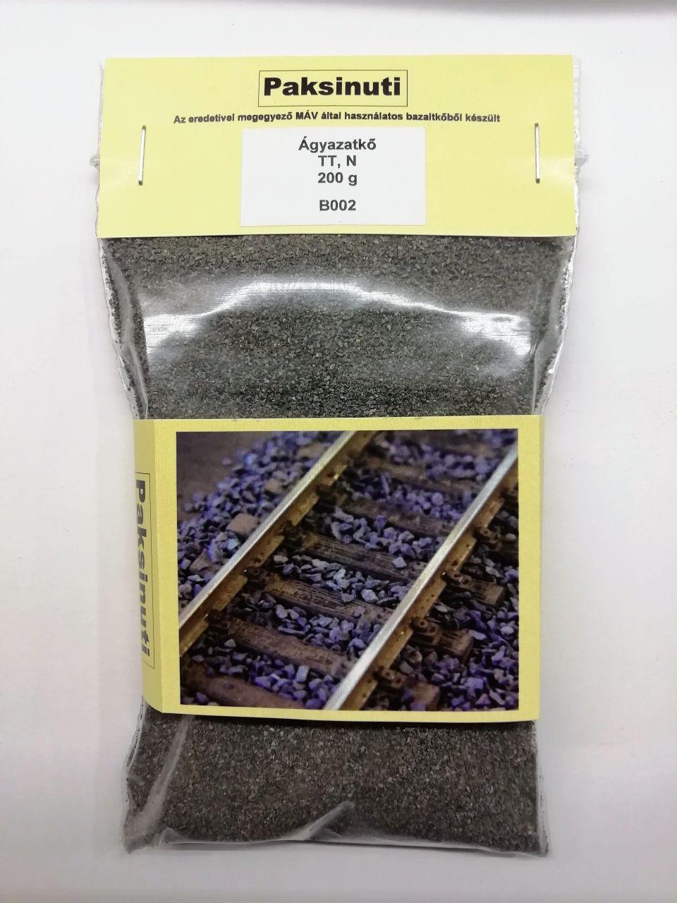 Paksinuti B002 Ágyazatkő, bazaltzúzalék 200g (1:120/160)