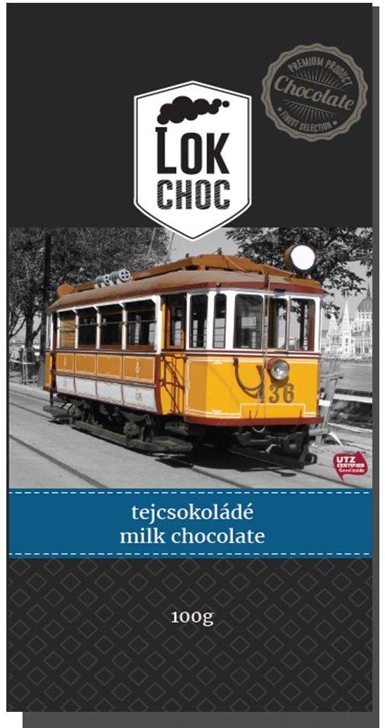 LokChoc BVVV L villamos tejcsokoládé 100g