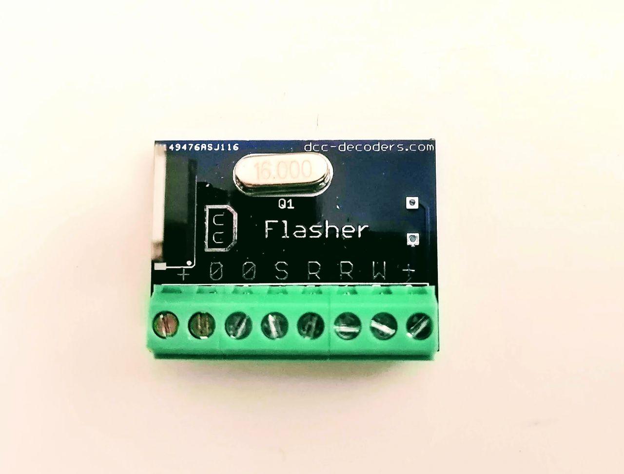 MB217 Fénysorompó villogtató elektronika