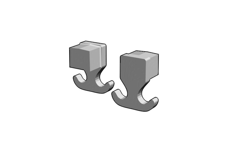 Mikromodell komphorog 2db (1:87)