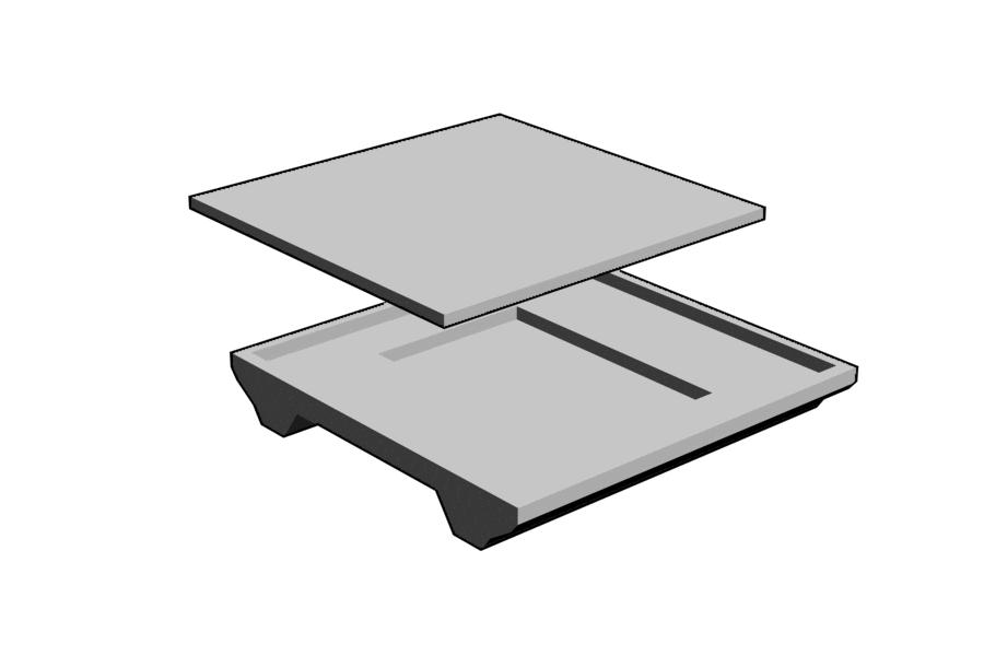 Mikromodell BODAN útátjáró belső elem (1:87)