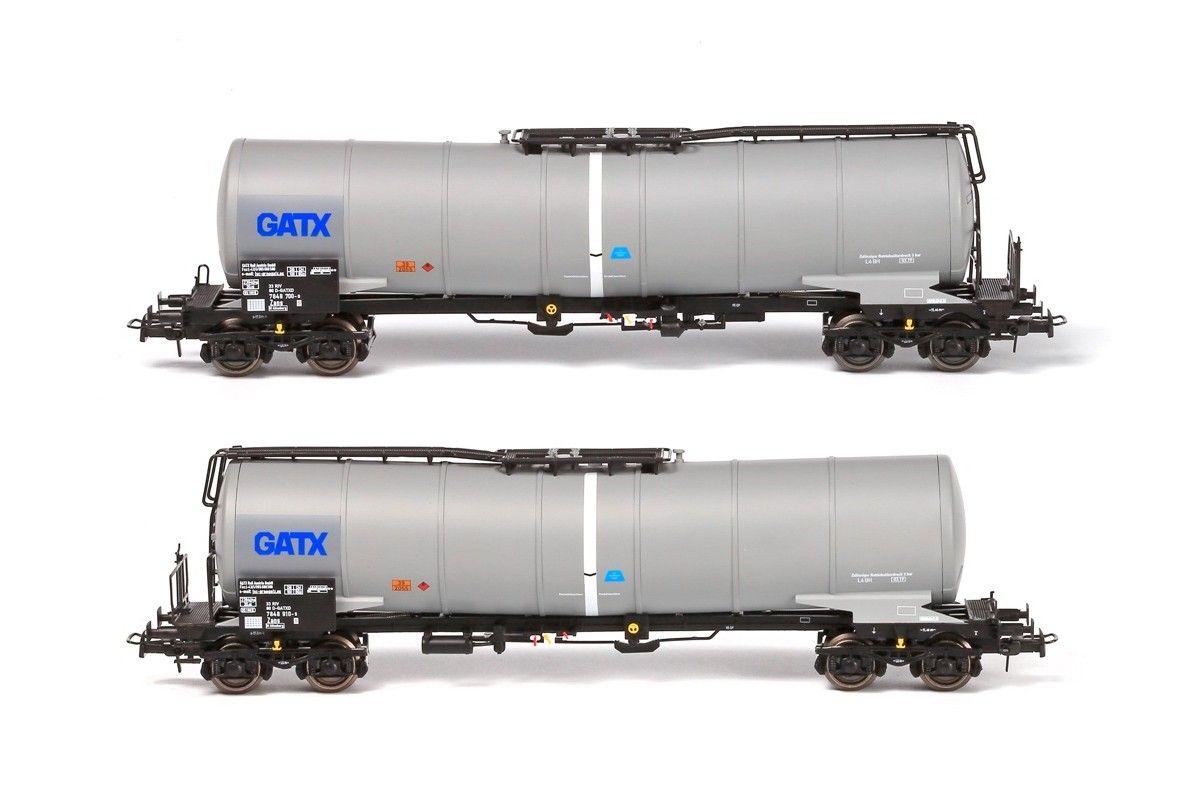 B-models VB-81065 D-GATXD GATX tartálykocsi készlet, 2 db (1:87)